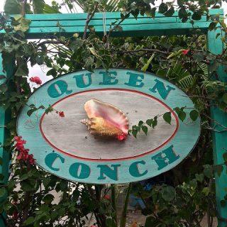 Blackened scallop recipe, Queen Conch Restaurant, Briland, Bahamas…