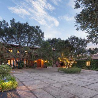 Jeff Bridges' Santa Barbara home….