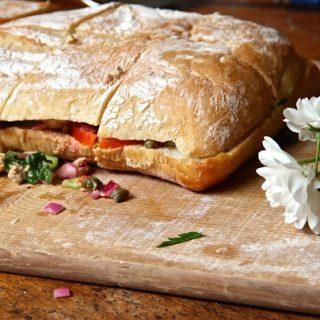 Pan Bagnet lusciousness, manger a trois fois….