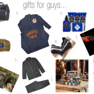 Gifts for the guys in your life…