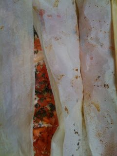 Salmon in Parchment