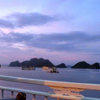 Sunsets and Crispy Spring Rolls, Ha Long Bay, Viet Nam…