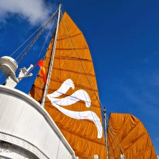 Cinnamon sails, Ha Long Bay, Viet Nam….
