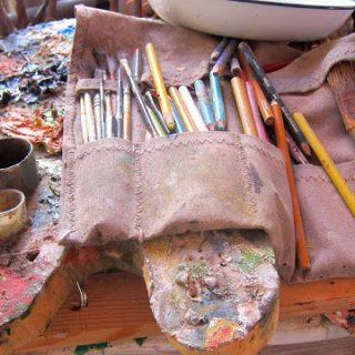 Artist David Wegman's studio, Saint Barthélemy, FWI…