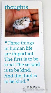 Kindness, coming soon to a screen near you…