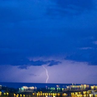 stormy weather…