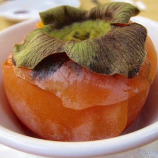 Persimmon Perfection in Menton, France….