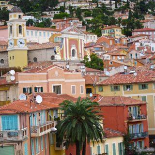 The colors of Villefranche~sur~Mer, France…