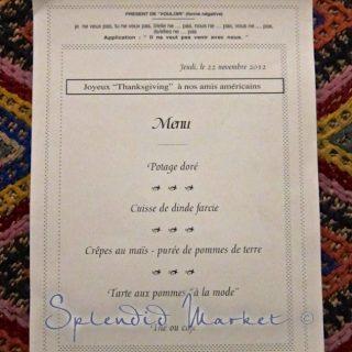 Happy thanksgiving from Villafranche~sur~Mer, France…