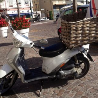 Bikes w/baskets, 4. Market day, Sanremo, Italy…