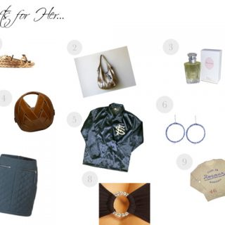 Gifts for her…