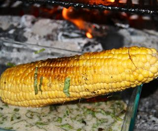 Roasted corn, Thai style….