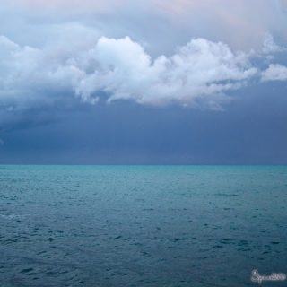 Stormy Seas, Eze Bord-de-Mer…