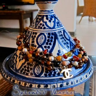 a tagine on a rainy day in Antibes…