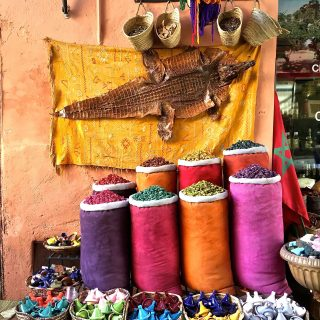 The Herboristes of the Souks, Marrakech…