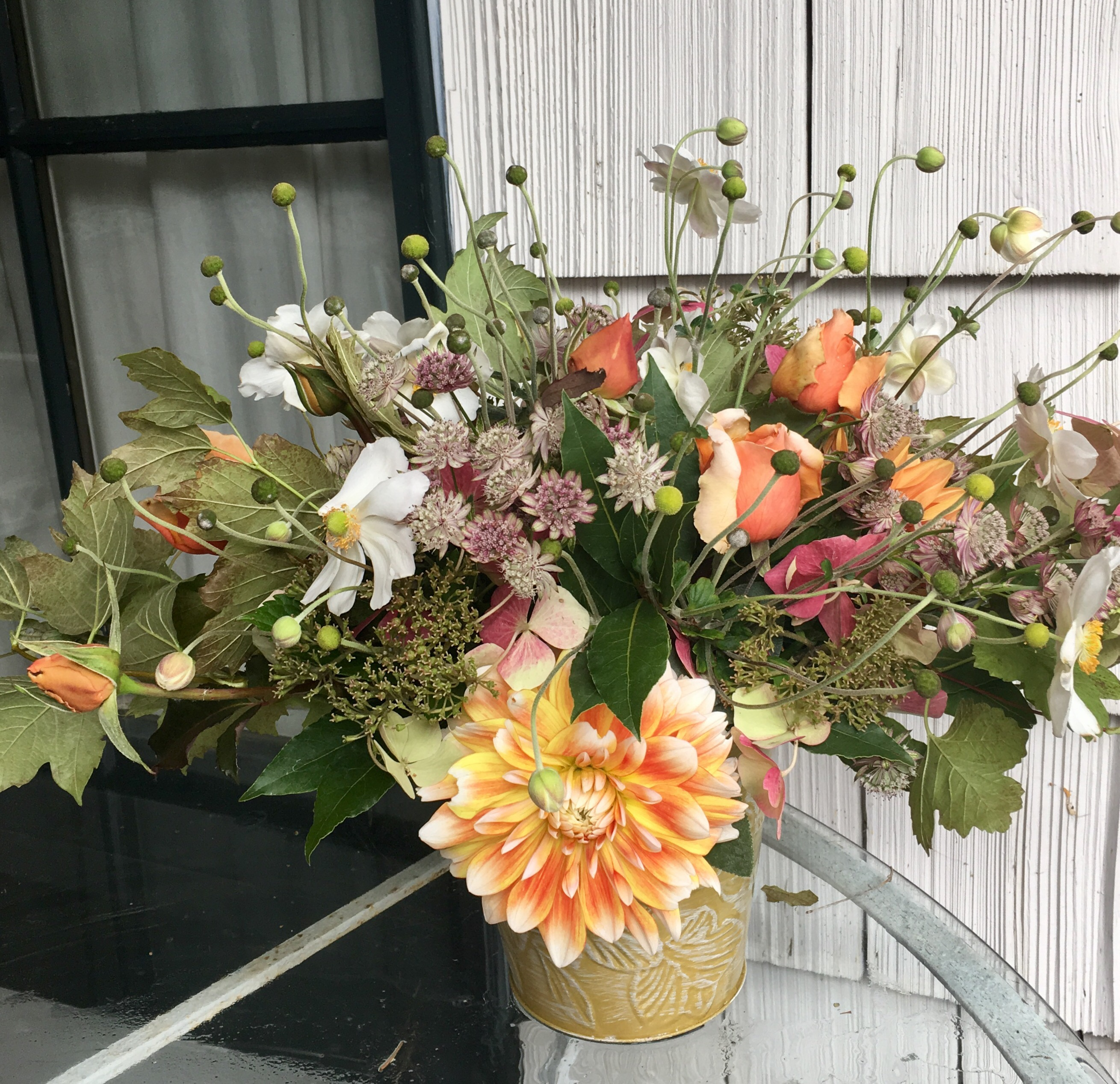 3-step fall bouquet how - to