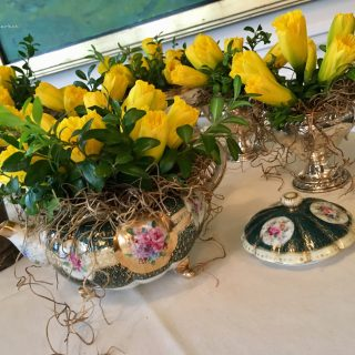 daffodil fields forever, whimsical tea party bouquets…