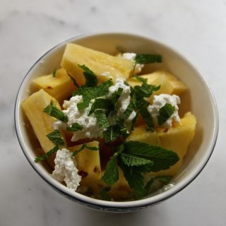 Pineapple Power breakfast bowl…