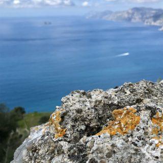 Hiking the path of the gods, Positano, Italy…
