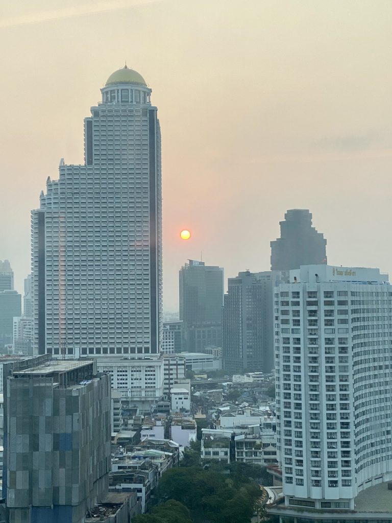 Good morning Bangkok!