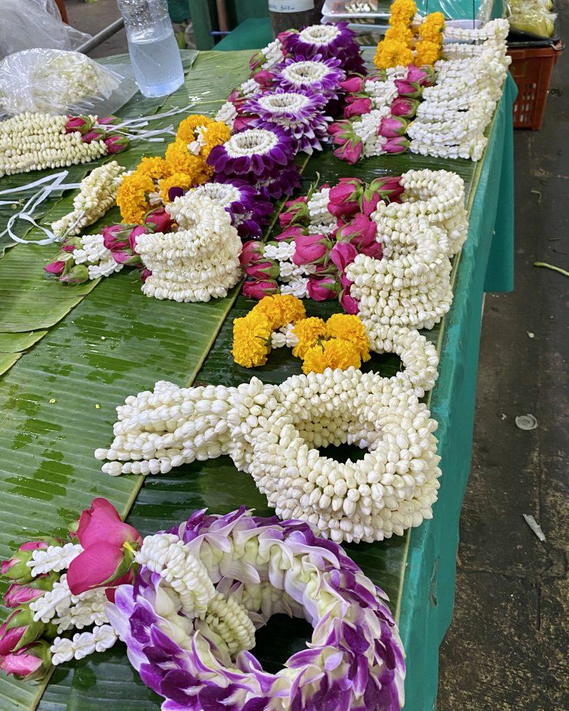 Bangkok flower market, Phuang Malai, Pak Khlong Talat