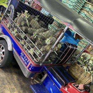 Bangkok produce market….