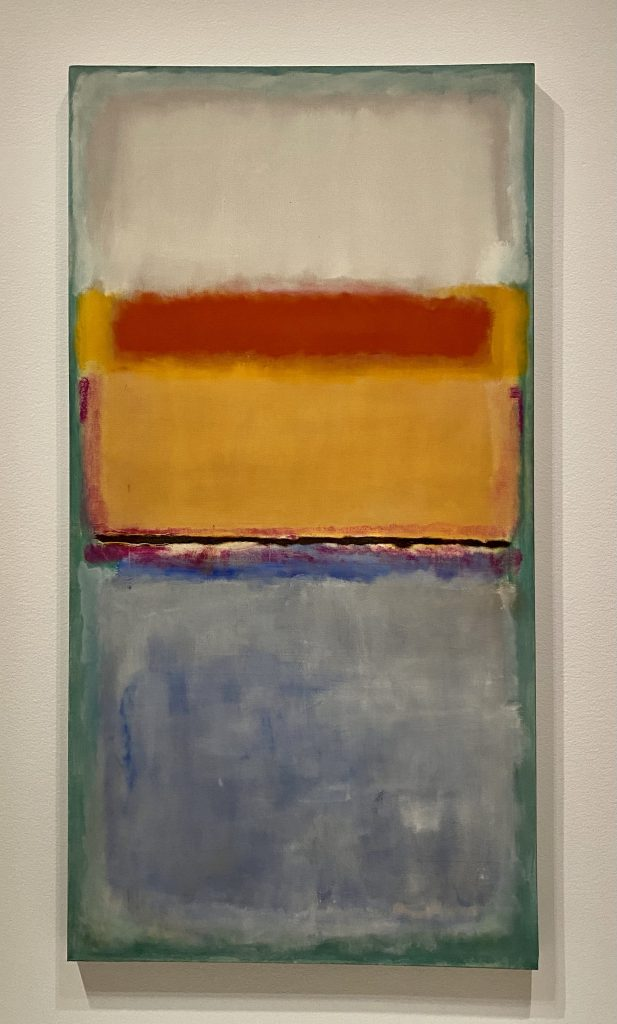 Seattle Art Museum, Virginia and Bagley Wright collection, Mark Rothko, oil on canvas