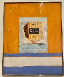 The French Line, Robert Motherwell, Virginia and Bagley Wright Collection, Seattle Art Museum