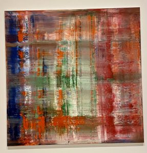 Abstraktes Bild {Abstract Picture}, Gerhard Richter, Virginia and Bagley Wright Collection, Seattle Art Museum
