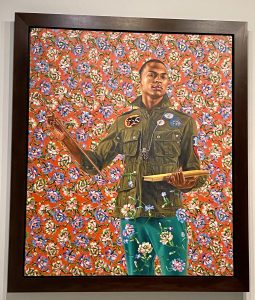 Anthony of Padua, Kehinde Wiley, Seattle Art Museum