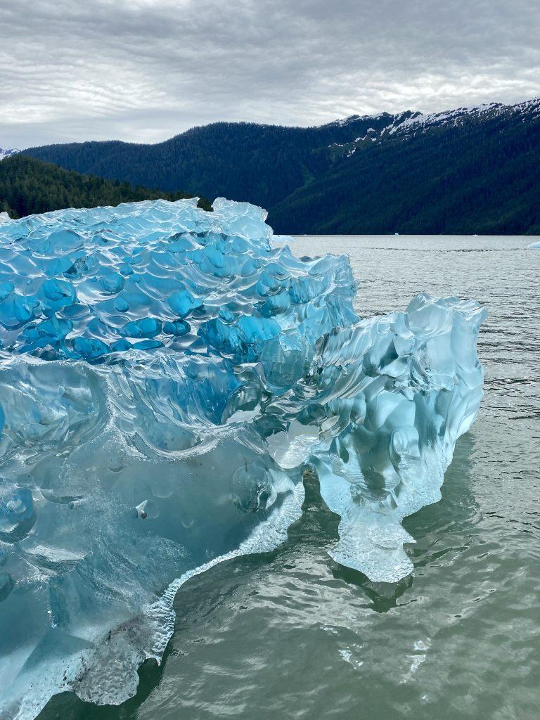 iceberg, blue icebergs, alaska, La Conte Glacier, La Conte Bay, icebergs