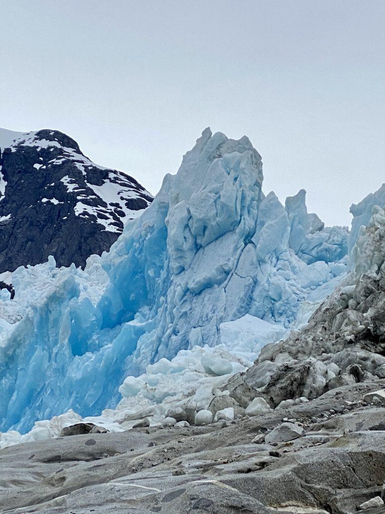 alaska, La Conte Glacier, La Conte Bay