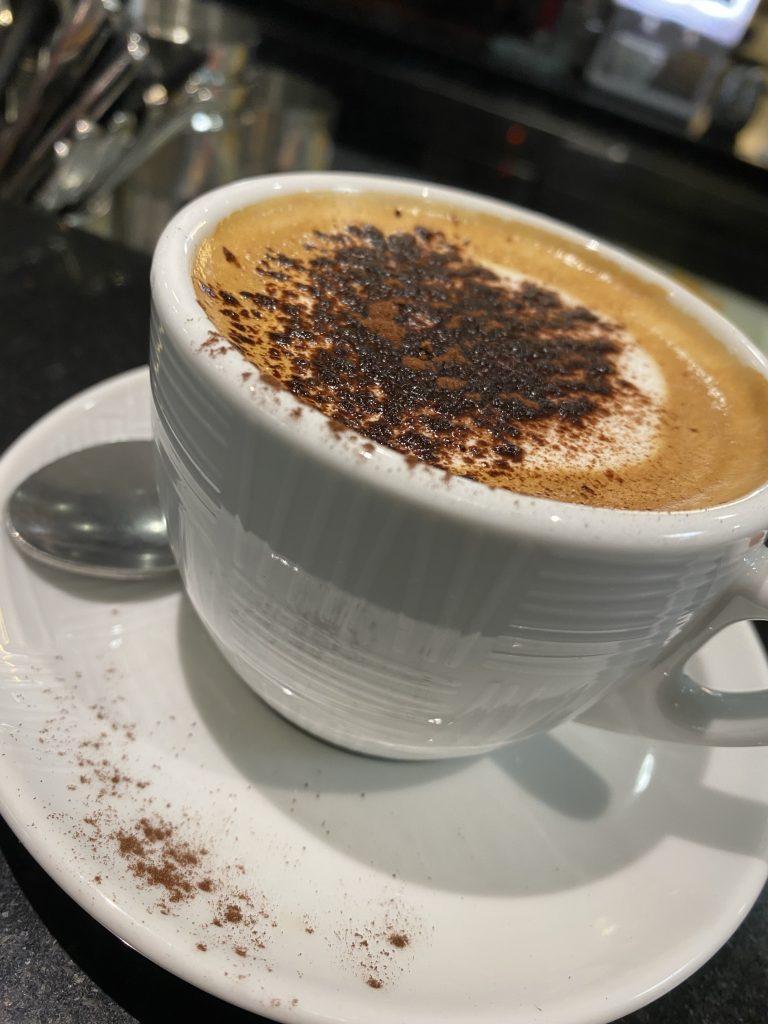 Mercato dei Fiori, Ventimiglia, Italy, Ventimille, Italie, Caffé Paris, cuppucino