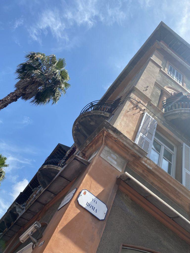 Via Roma, Mercato dei Fiori, Ventimiglia, Italy, Ventimille, Italie