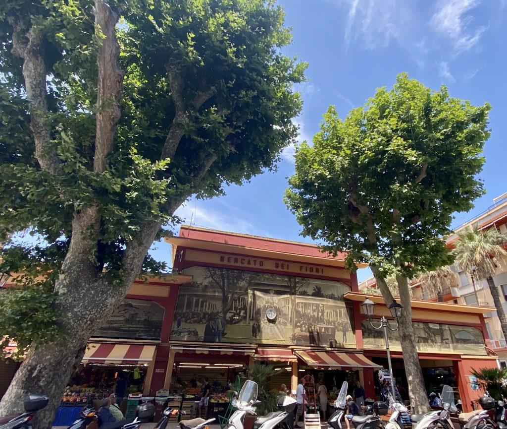 Mercato dei Fiori, Ventimiglia, Italy, Ventimille, Italie